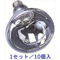 【口金E26】リフレクターランプ 200W型 2300lm 1セット/10個入 RS-200WH HATAYA(ハタヤ) (直送品)
