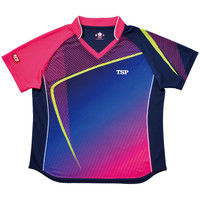 レディスルーチェシャツ 3S ピンク 1枚 TSP 032412 0300 ヤマト卓球