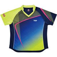 レディスルーチェシャツ 3S ライム 1枚 TSP 032412 0280 ヤマト卓球