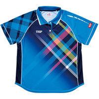 レディスモデストシャツ XO ブルー 1枚 TSP 032411 0120 ヤマト卓球