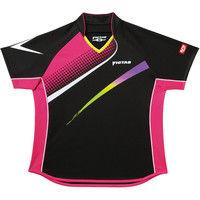 ヴィクタス V-LS029 レディース ゲームシャツ XO ブラック 1枚
