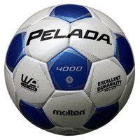 ペレーダ4000 5号球 シャンパンシルバー×メタリックブルー  0 1球 MT F5P4000WB モルテン(取寄品)