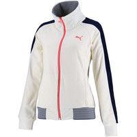 【レディース トレーニングウェア】 トレーニングジャケット XL 04 ウィスパーホワイト 1着 PAJ 514767 04 PUMA(取寄品)