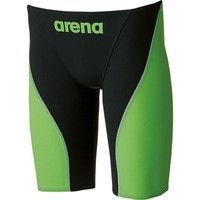 アリーナ メンズ 競泳用水着 Fina承認 ハーフスパッツ アクアフォース フュージョン2 SS マルチ 1枚 DS ARN7011M BKLG