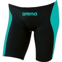 アリーナ ジュニア ボーイズ 競泳用水着 Fina承認 ジュニアハーフスパッツ X-パイソン2 R130 マルチ DS ARN7026MJ BKMG (取寄品)