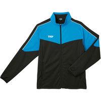 TSP ドライジャージジャケット S ブルー 1着 ヤマト卓球TSP 033886 0120 ヤマト卓球