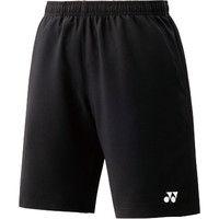 【男女兼用 テニスウェア】 UNI ハーフパンツ(スリムフィット) 15048 SS ブラック 1枚 YY 15048 007 ヨネックス (取寄品)