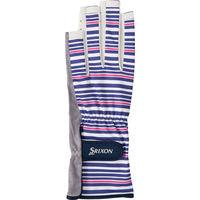 SRIXON(スリクソン) 【レディース テニス用手袋】 UVカット グローブ ネイルスルータイプ 両手セット レディス S マルチ 1セット (取寄品)