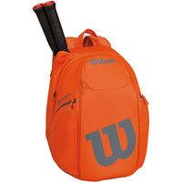 Wilson(ウイルソン) 【テニス用ラケットバッグ】 BURN&BLADE BACKPACK オレンジ×グレー  マルチ 1個 (取寄品)