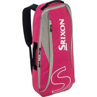 SRIXON(スリクソン) 【テニス用ラケットバッグ】 ラケットバッグ ラケット2本収納可  ピンク 1個 DUN SPC2731 110 ダンロップ(取寄品)