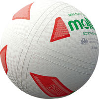 ミニソフトバレーボール 白赤緑  0 1球 MT S2Y1201WX モルテン(取寄品)