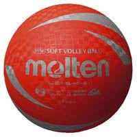 ミニソフトバレーボール レッド  0 1球 MT S2V1200R モルテン(取寄品)