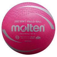 ミニソフトバレーボール ピンク  0 1球 MT S2V1200P モルテン(取寄品)