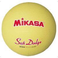 <LOHACO> ソフトドッジボール 2 号 イエロー 1球 MG STD2R Y ミカサ(取寄品)画像
