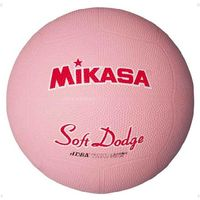 <LOHACO> ソフトドッジボール 2 号 ピンク 1球 MG STD2R P ミカサ(取寄品)画像
