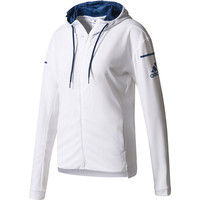 【レディース テニスウェア】 WOMENS SUBKIT UVカバージャケット J/M ホワイト 1着 ADJ BXI00 S98967 (取寄品)