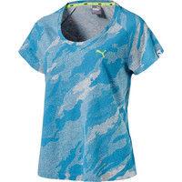 【レディース トレーニングウェア】 AOP SS Tシャツ L 24 ブルー 1枚 PAJ 592750 24 PUMA(取寄品)