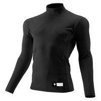 ジュニア ハイネック長袖リラックスFITシャツ 150 ブラック 1枚 DS JSTD750 BLK デサント(取寄品)
