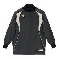 ジュニアウィンドシャツ 130 ブラック 1枚 DS PJ251J BLK デサント(取寄品)