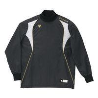 ウィンドシャツ L ブラック 1枚 DS PJ251 BLK デサント(取寄品)
