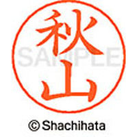 シャチハタ ネームペン用ネーム シルバー 既製 秋山 X-GPS 0054 アキヤマ 1個 (取寄品)