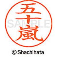 シャチハタ ネームペン用ネーム シルバー 既製 五十嵐 X-GPS 0338 イガラシ 1個 (取寄品)