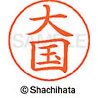 シャチハタ ネームペン用ネーム シルバー 既製 大国 X-GPS 0472 オオクニ 1個(取寄品)
