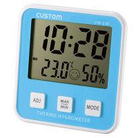 カスタム デジタル温湿度計 CTH-210 (直送品)