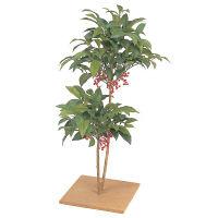 タカショー 人工観葉植物 マンリョウ 板付80cm GD-70 1個 (直送品)
