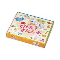 シャチハタ てがたすたんぷセット インキ付 オレンジ HT-AS-OR 1個 (直送品)