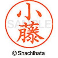 シャチハタ ネームペン用ネーム シルバー 既製 小藤 X-GPS 1067 コフジ 1個(取寄品)