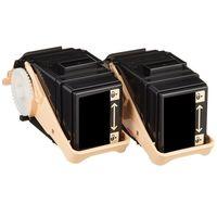 トナーカートリッジ CT202455タイプ 汎用品 ブラック 2個入(直送品)
