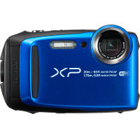 富士フイルム 「FinePix」XP120 ブルー SDカードセット FX-XP120BLSET 1セット