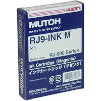 ムトー インクジェットカートリッジ RJ9-INK M マゼンタ