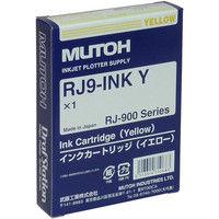 ムトー インクジェットカートリッジ RJ9-INK Y イエロー