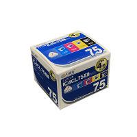 G&G 互換インク HBE-4CL75 1パック(大容量4色入)(エプソン IC4CL75互換)