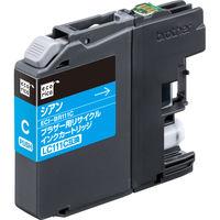 エコリカ リサイクルインク ECI-BR111C シアン(ブラザー LC111C互換) LC111シリーズ