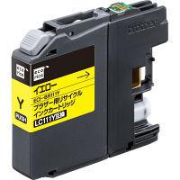 エコリカ リサイクルインク ECI-BR111Y イエロー(ブラザー LC111Y互換) LC111シリーズ