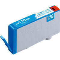 エコリカ リサイクルインク ECI-HP178C-V シアン(HP HP178シアン互換)
