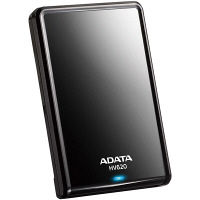 ADATA ポータブルHDD 1TB AHV620-1TU3-CBK 1台