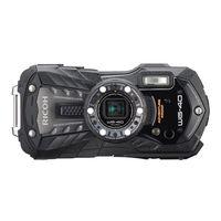 リコー 防水デジタルカメラ バッテリーセット ブラック WG-40 SET BK 1セット