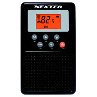 エフ・アール・シー 防災ラジオ ブラック NX-109RD BK 1台