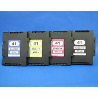 互換インク GC41タイプ 1パック(4色入)(リコー GC41K/C/M/Y互換)