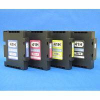 互換インク GC41Hタイプ 4色パック(大容量)(リコー GC41KH/CH/MH/YH互換)