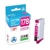 ジット リサイクルインク JIT-H178M マゼンタ(HP HP178 CB319HJ互換)
