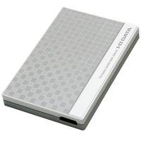 ポータブルHDD 1TB ホワイト EC-PHU3W1 アイ・オー・データ機器