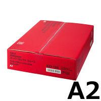 【在庫限り処分品】【旧品質】【旧デザイン】アスクル マルチペーパー セレクト スムース A2 1箱(250枚×5冊)