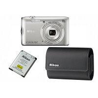 ニコン デジタルカメラ ケース・バッテリーセット シルバー A300 SET SL 1セット