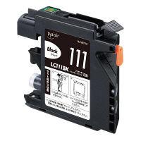 プレジール 互換インク PLE-BR111B ブラック(ブラザー LC111B互換)