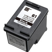 エコリカ リサイクルインク ECI-HP61B-V ブラック(HP HP61互換)